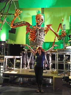 I got to play at LAIKA Studios on the set of Kubo and the Two Strings