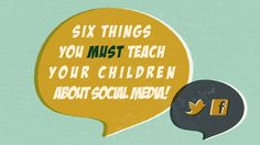Here are six principles every parent must teach their kids about social media!