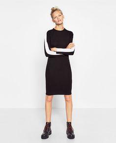 Imagem 1 de VESTIDO JUSTO FAIXA LATERAL da Zara