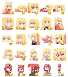Gabriel DropOut Stickers Set