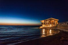 Beach by Night, #Fano, #Italy province of Pesaro e Urbino, Marche region  Italy -