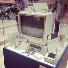 1983 PC System at the Microsoft Store in Bellevue, WA.