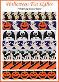 Halloween Tea Lights Bead Pattern at Sova-Enterprises.com