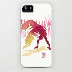 Capoeira 327 iPhone & iPod Case by Alexandre Guillaume - $35.00