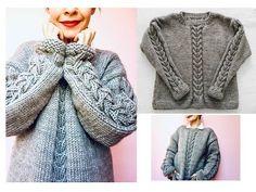 Un hermoso suéter, tutorial gratis. – TEJIDOS KIRIKIRI Sweater Knitting Patterns, Sweaters, Cardigans, Crochet, Fashion, Knitting Sweaters, Vest Coat, Knitted Coat, Crochet Dresses