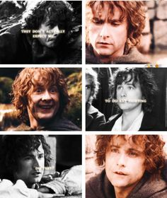 """Peregrin (Pippin) Took """"I don't want to be in a battle ,but waiting on the edge of one you can't escape is even worse"""""""