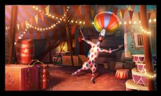 """Madagascar 3: Europe's Most Wanted"" concept art by Stevie Lewis"