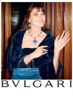 Carla Bruni Returns to Modeling for Bulgari 'Diva' Campaign by Terry Richardson | Fashion Gone Rogue: The Latest in Editorials and Campaigns