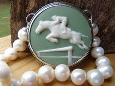 Equestrian Jumper in Jasperware by shinybycharlotte on Etsy, $356.00