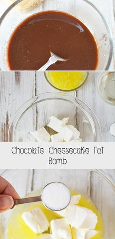 This chocolate cheesecake fat bomb recipe is the perfect way to help you maintain your keto lifestyle! Made with coconut oil, you'll love this two layered keto fat bomb with cream cheese to have on hand for a tasty snack when you need it most. Keto Chocolate Fat Bomb, Low Carb Chocolate, Chocolate Cheesecake, Chocolate Recipes, Coconut Fat Bombs, Coconut Peanut Butter, Coconut Oil, Lemon Coconut, Low Carb Desserts