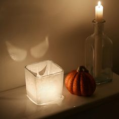 This Halloween no toilet is complete without a spooky eyed candle creepily watching you.