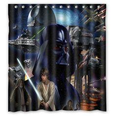 Star Wars Custom Shower Curtain