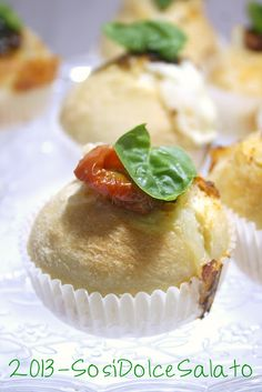 focaccine finger food