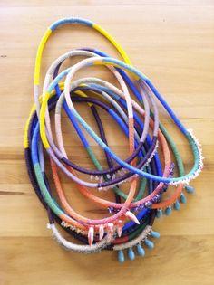 Henriette Botha originals. Balmain, Contemporary Design, Originals, Ethnic, Weaving, Jewelry Design, Necklaces, Beads, Luxury
