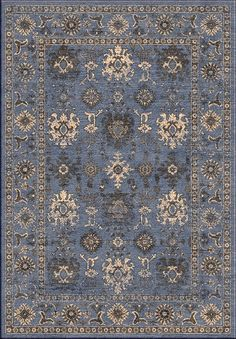 Surya MAV7012 Mavrick Blue Rectangle Area Rug