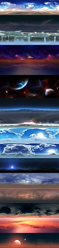 Sky Textures (Gameloft)