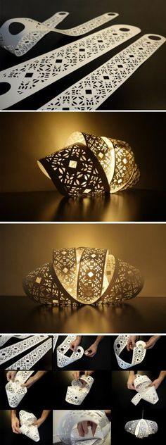 纸质的灯具:patella -Lan:Arting ROOM小站-人人小站