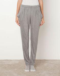 Pantalón punto bolsillos - Pantalones - Homewear - España
