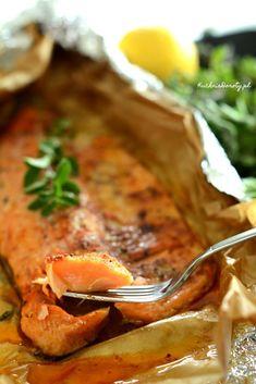 pstrąg-pieczony Vegan Junk Food, Vegan Sushi, Vegan Bodybuilding, Vegan Baby, Vegan Pancakes, Vegan Smoothies, Vegan Sweets, Vegan Breakfast, Vegan Recipes