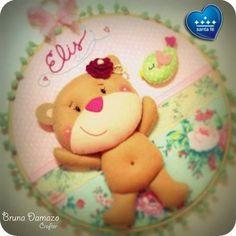 Teddy Bear Party, Teddy Bear Birthday, Teddy Bears, Picnic Birthday, Birthday Parties, Sugar Art, Felt Art, Patch, Baby Shower