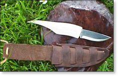 Making an Antler Handle Knife
