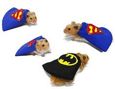 Hamster/Small Animal Superhero Capes - EverythingHamsters