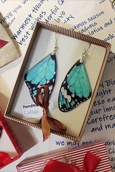#butterflt_earrings #butterfly_jewelry #butterfly_gift #butterfly_wings #transparent_jewelry #bohemian_earrings #gift_for_her #gift_for_best_friend #gift_for_mom #gift_for_girl #gift_for_wife #turquoise_earrings #avant_garde_earrings #modern_earrings Wing Earrings, Unique Earrings, Statement Earrings, Etsy Earrings, Butterfly Gifts, Butterfly Earrings, Pink Turquoise, Turquoise Earrings, Christmas Gifts For Her