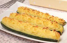 Le Zucchine ripiene di Patate sono un secondo piatto molto gustoso, facile da realizzare e leggero, piaceranno a tutta la famiglia, persino ai più piccini!!