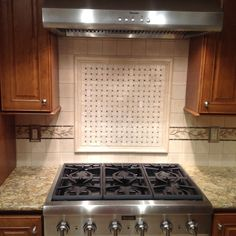 Tile Behind The Stove Design Ideas, Pictures, Remodel and Decor Kitchen Cabinets, Kitchen Appliances, Kitchens, Backsplash, Stove, Kitchen Remodel, Design Ideas, Pictures, Home Decor