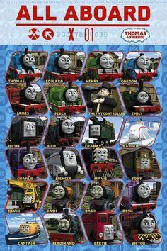 Thomas and Friends : Profile - Maxi Poster 61cm x 91.5cm (new & sealed)