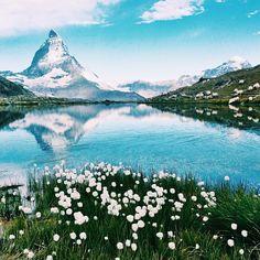 """""""Matterhorn, Zermatt, Switzerland // Collab // Photo by @corinne.wyss"""""""