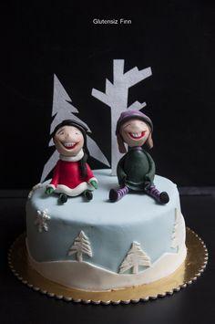 Glutenfree Winter Cake inspired by Carlos Lischetti