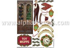 Toy Shoppe Collage Sheet Set