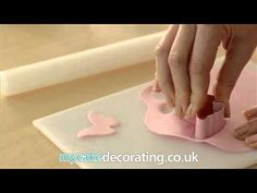 How to make butterfly toppers. Check it out on the Satin Ice You Tube Channel.