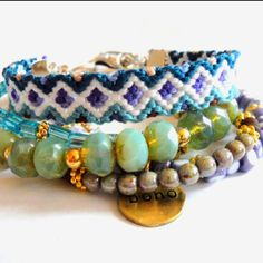 "Boho Chic ""hippie"" bracelet..."