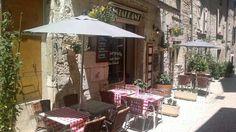 "Restaurant ""La Gargouille "" Barjac  (F)"