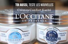 L'Occitane propose à 10 madmoiZelles de tester les deux nouvelles crèmes hydratantes pour le visage de sa gamme Karité.