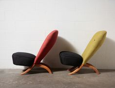 PAIR OF THEO RUTH CONGO CHAIRS