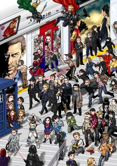 2.5D_some characters by ~SPseungryu on deviantART - Find your fandom! There's John & Sherlock!!