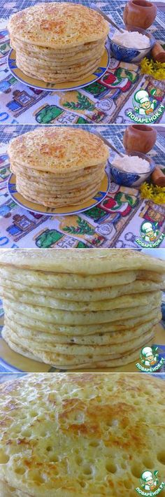 Блины на кулеше по бабушкиному рецепту - кулинарный рецепт