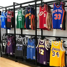 WE LOVE ABIT OF OLD SCHOOL  at @intersport_auburn !  Come in and check out the @mitchellness HARDWOOD CLASSIC jerseys from all you favourite players!!! . . . . #intersport#basketball#jersey#clothing#ballislife#cavs#bulls#gsw#spurs#lakers#hardwoodclassics#oneal#pippin#rodman#retail#auburn#nba#raptors#wolves#knicks#sixers#iverson#curry#lebron#carter#garnet#hardaway#johnson#bird