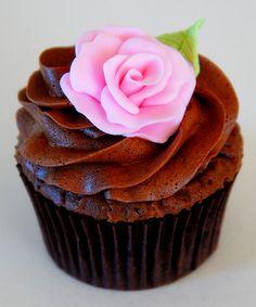 Toutes les tailles | Pink Rose Cupcake | Flickr: partage de photos!
