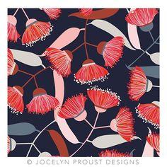 New Gum blossom #jocelynproustdesigns #eucalyptus #gumblossom #australianflora #australiandesigner #textiledesign #Regram via @?taken-by=jos_proust