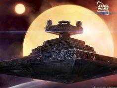 "Art for the Star Wars Galaxy game, by Singapore artist ""ukitakumuki""."