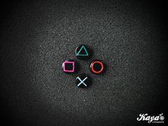 Playstation Joystick orecchini - earrings - fimo - polymer clay  #joystick #sony #playstation #playstation4 #gaming #gamer #videogame #nerd #nerdgirl #game #console #ps4 #ps4games #videogamer #ea #ubisoft #namco #atari #disney #squarenix #konami #easports #rockstargames #squaresoft  Kaya Creazioni http://www.facebook.com/KayaCreazioni