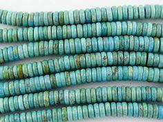 Turquoise Heishi Beads 6mm (TUR1109)