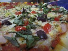 Mediterranea Pizza Pasta, Vegetable Pizza, Bar, Vegetables, Food, Restaurants, Veggies, Vegetable Recipes, Meals