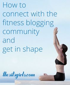 Learn how to incorporate your fitness journey into your blog, and how to connect with other bloggers to find support and encouragement | fitness blogging | blogging tips | health blogging