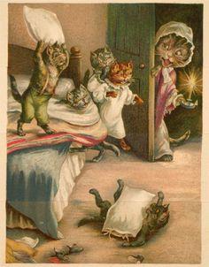 Beatrix Potter - Kittens Bedtime