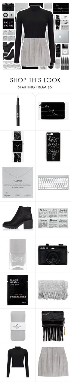 """""""Love, laugh, live..."""" by stelbell ❤ liked on Polyvore featuring Casetify, Polaroid, Dogeared, River Island, Nails Inc., Holga, canvas, American Eagle Outfitters, Vince Camuto and Miss Selfridge"""